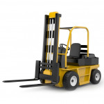 Forklift and golf car
